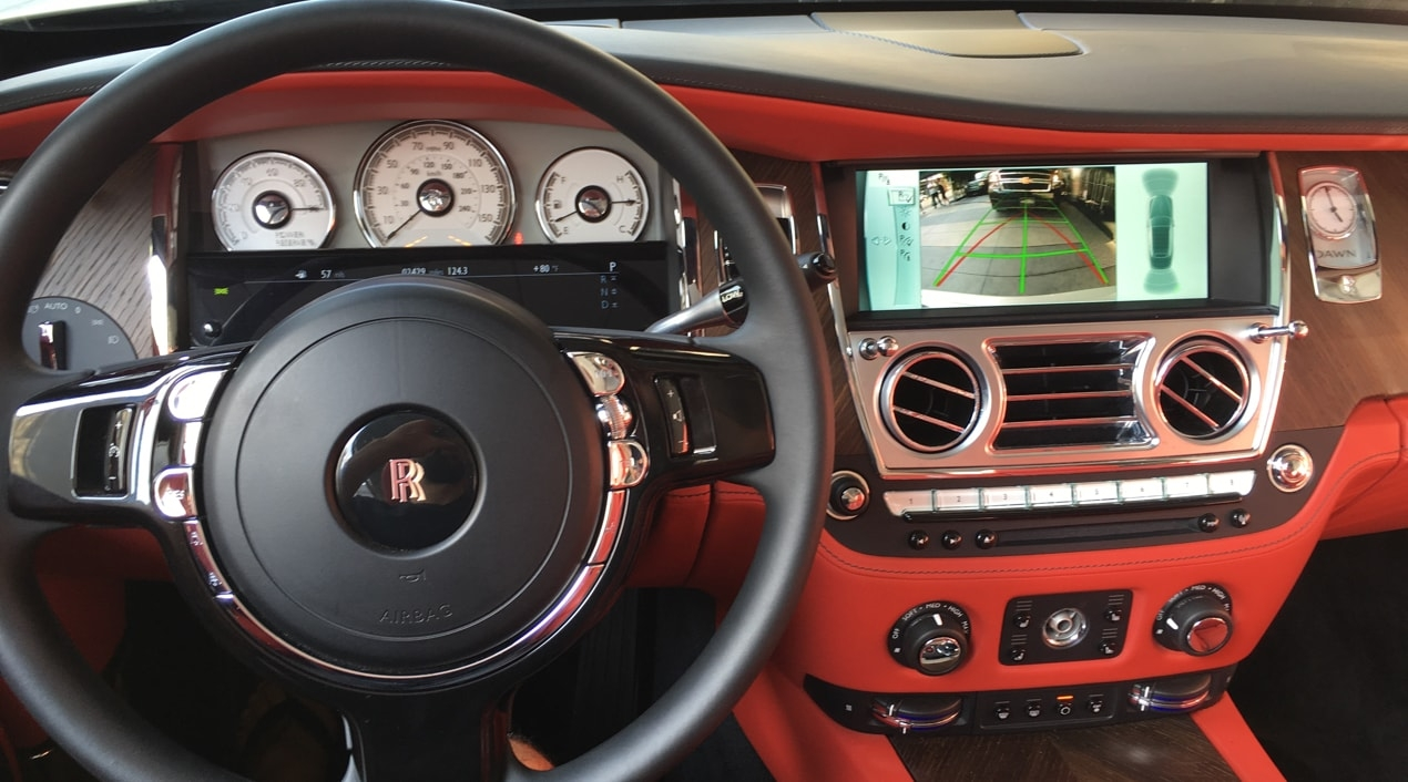 Rolls Royce Dawn Pearl White Amp Red Convertible Exotic