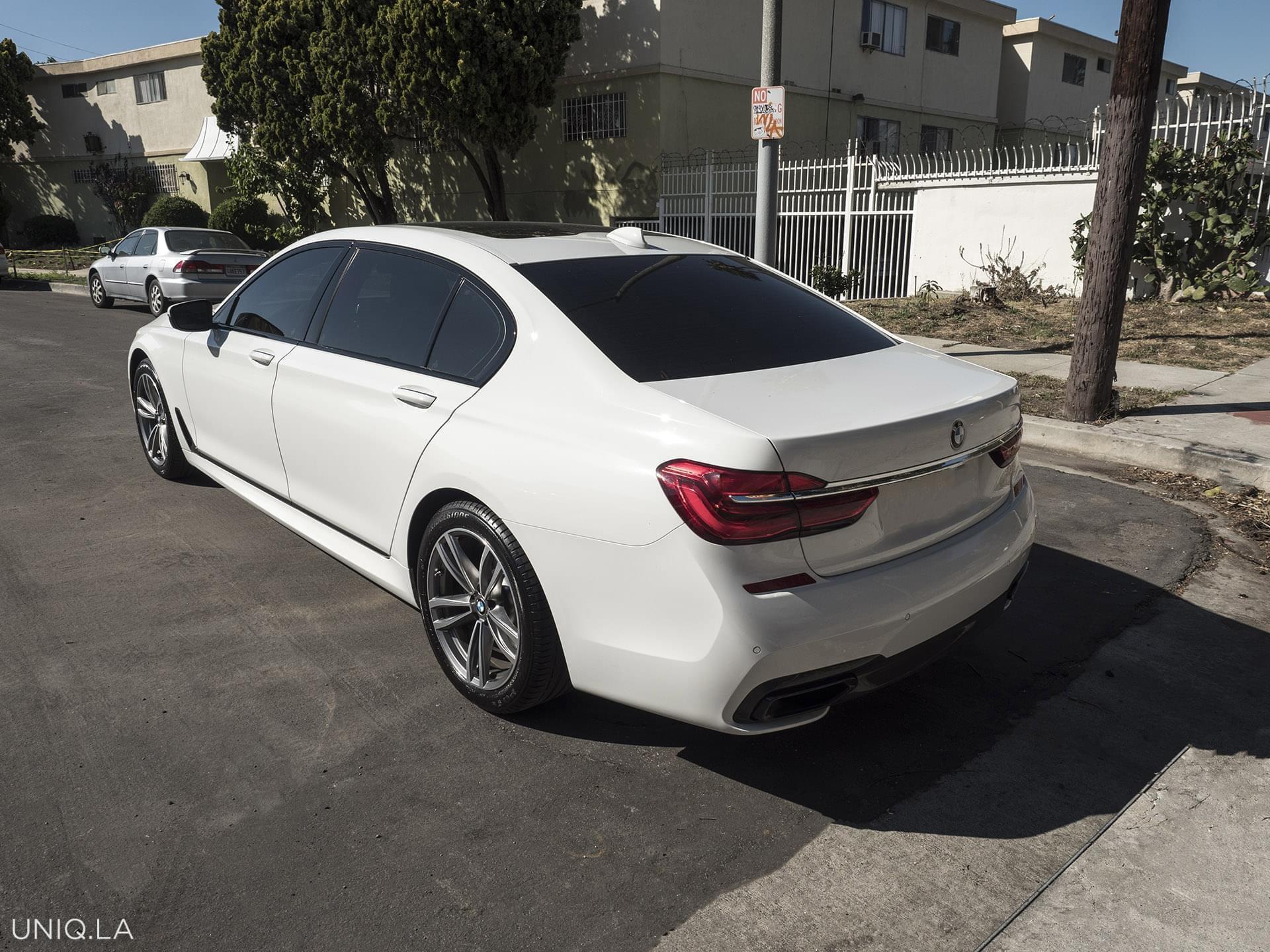 BMW 740 White