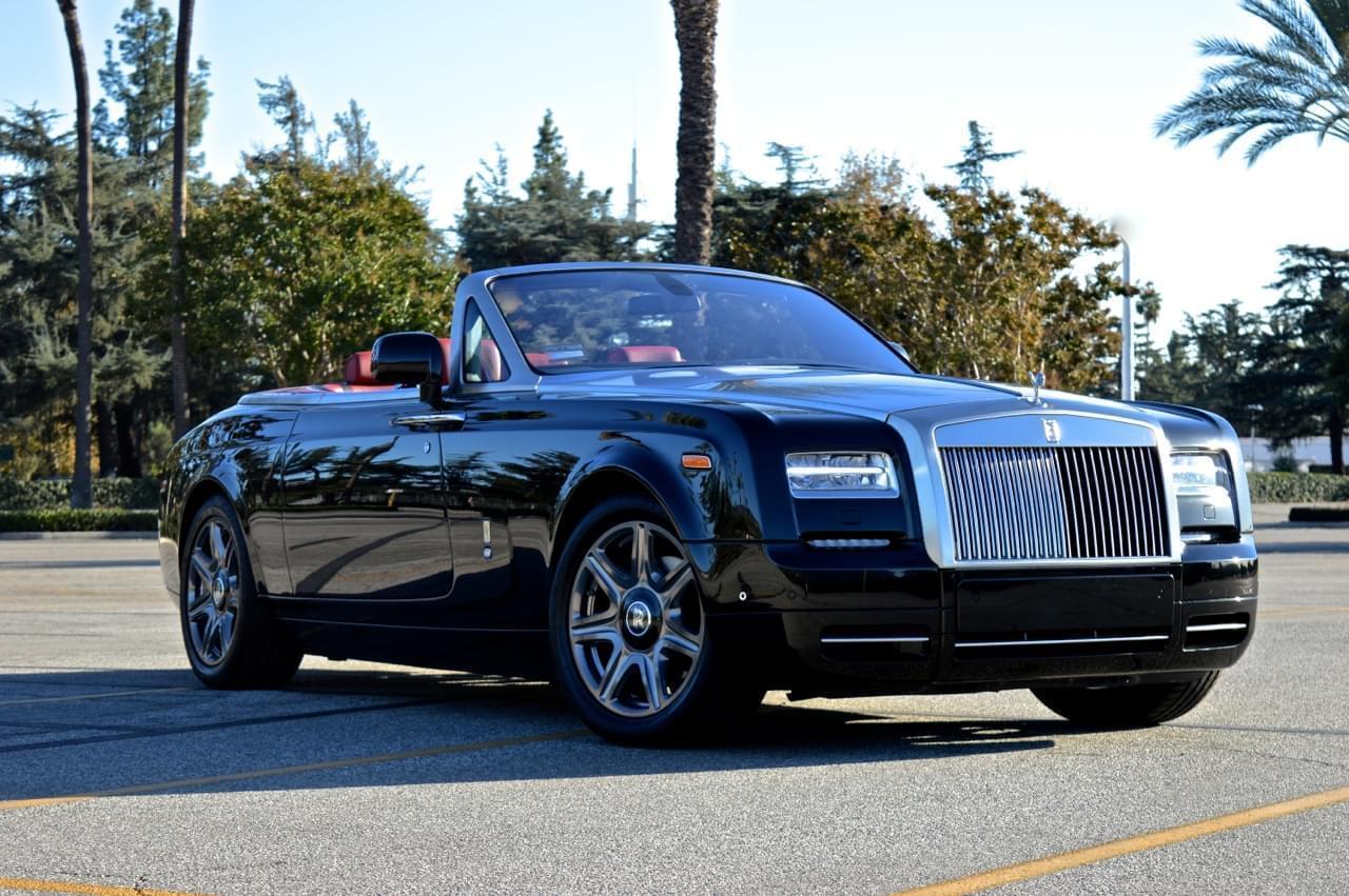Rolls Royce 2 Door Convertible Black Amp Red Exotic Cars