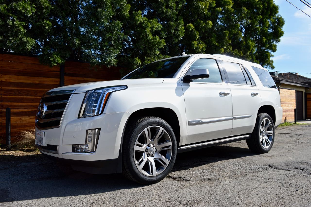 cadillac escalade pearl white exotic cars uniq los angeles. Black Bedroom Furniture Sets. Home Design Ideas