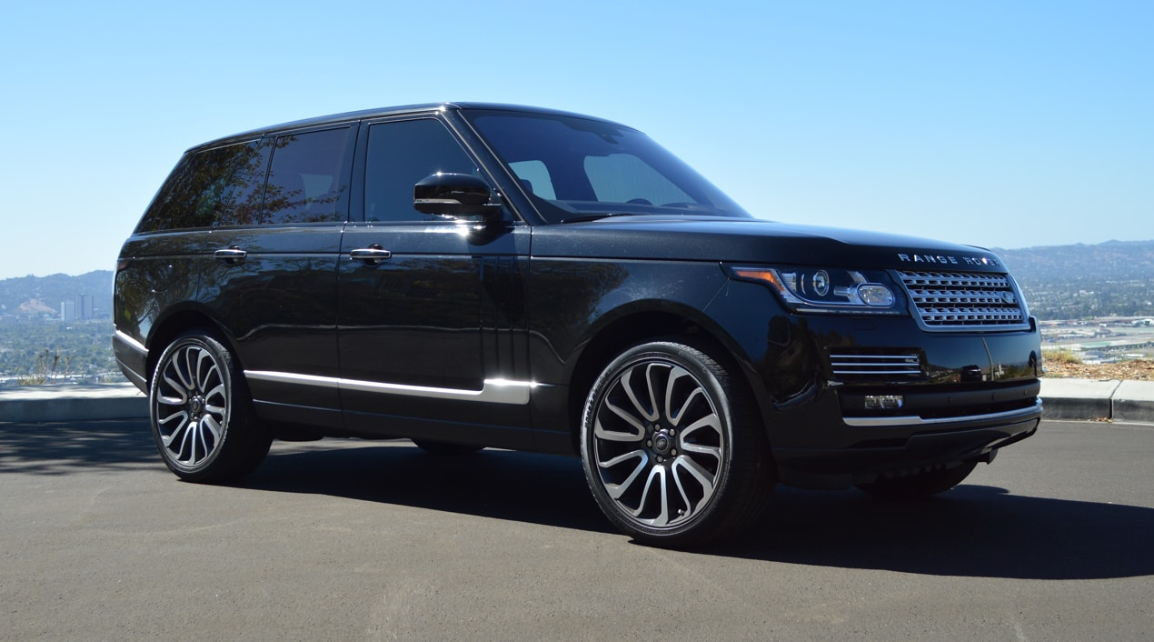 Range Rover Autobiography Black Red