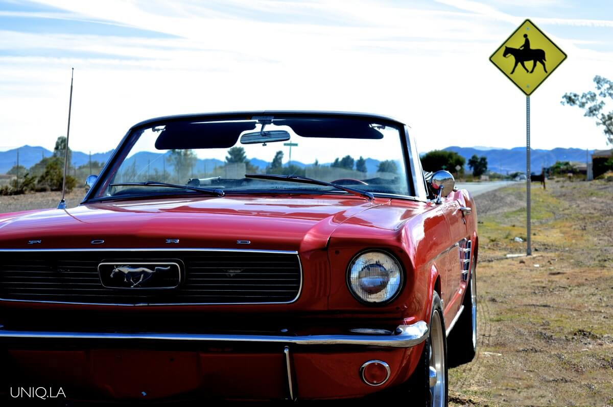 1964 Ford Mustang Convertible Red Exotic Cars Uniq Los Angeles