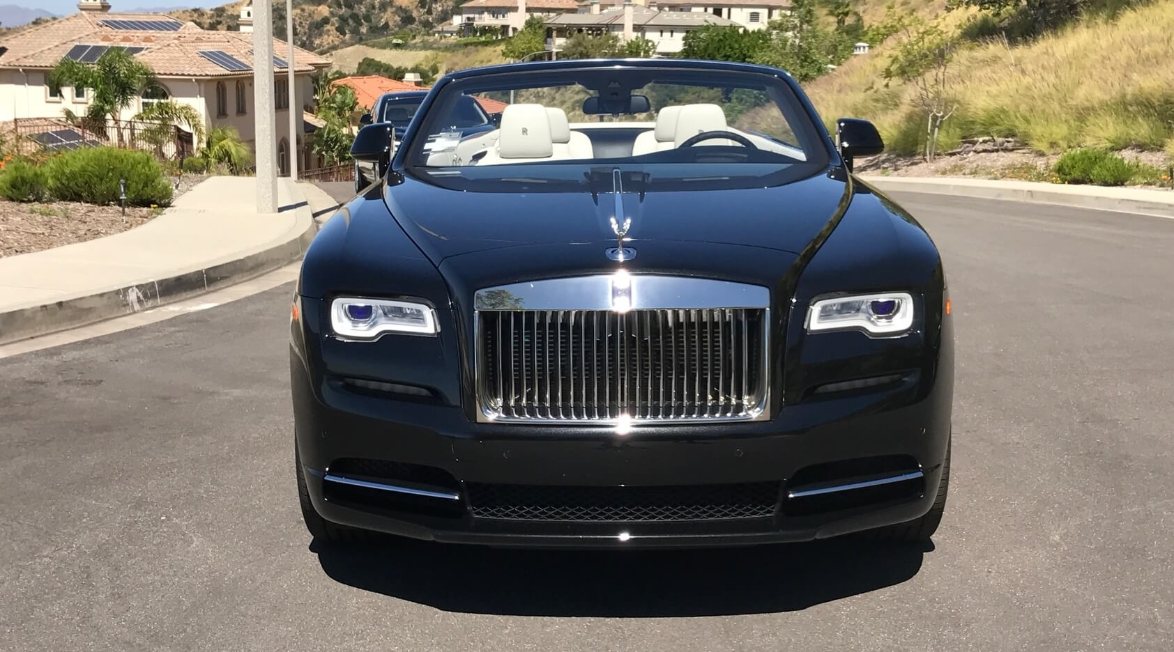 Rolls Royce Dawn Black 2 Door Convertible Exotic Cars