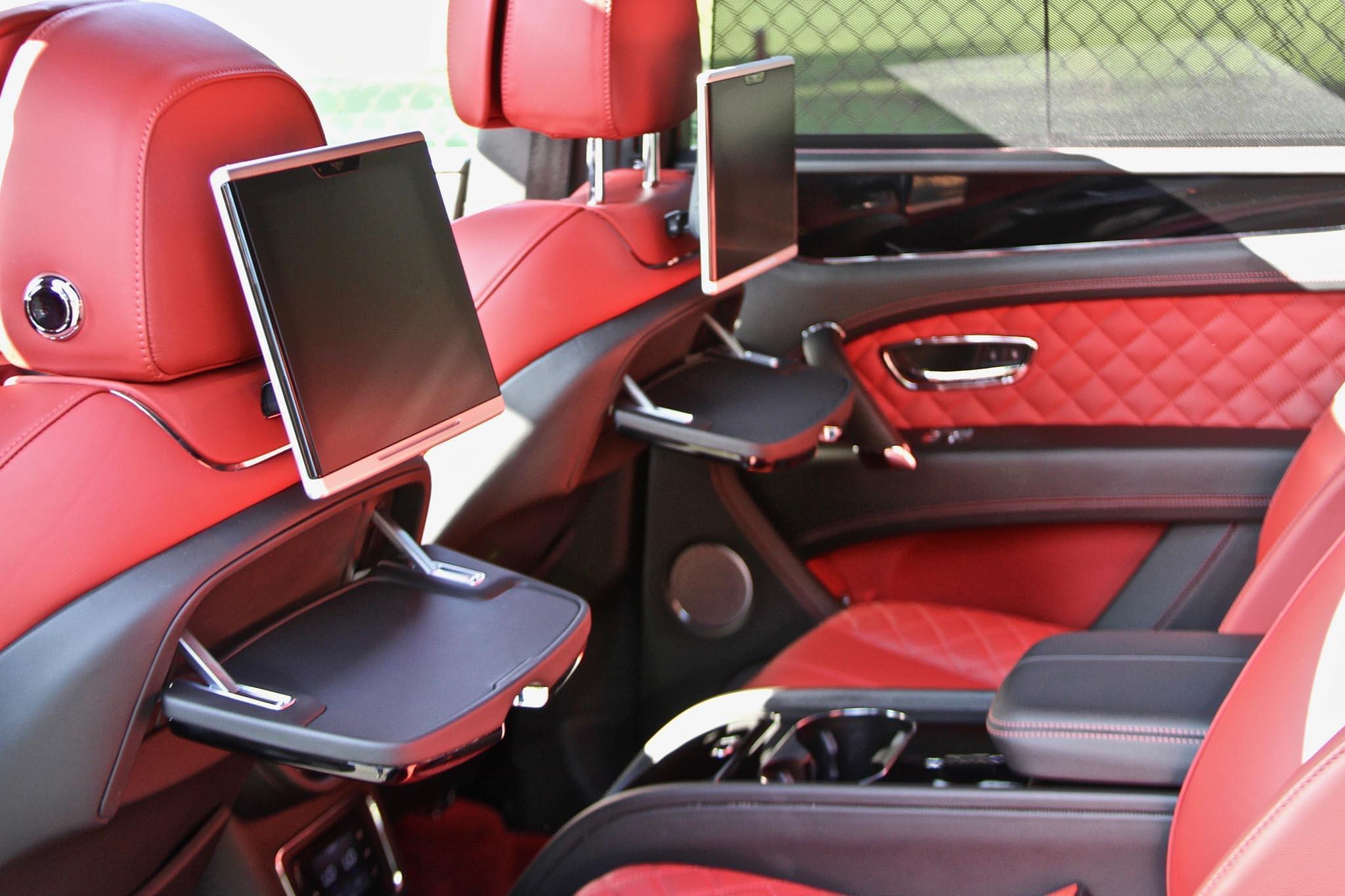 Bentley Bentayga Black Red Exotic Cars Uniq Los Angeles