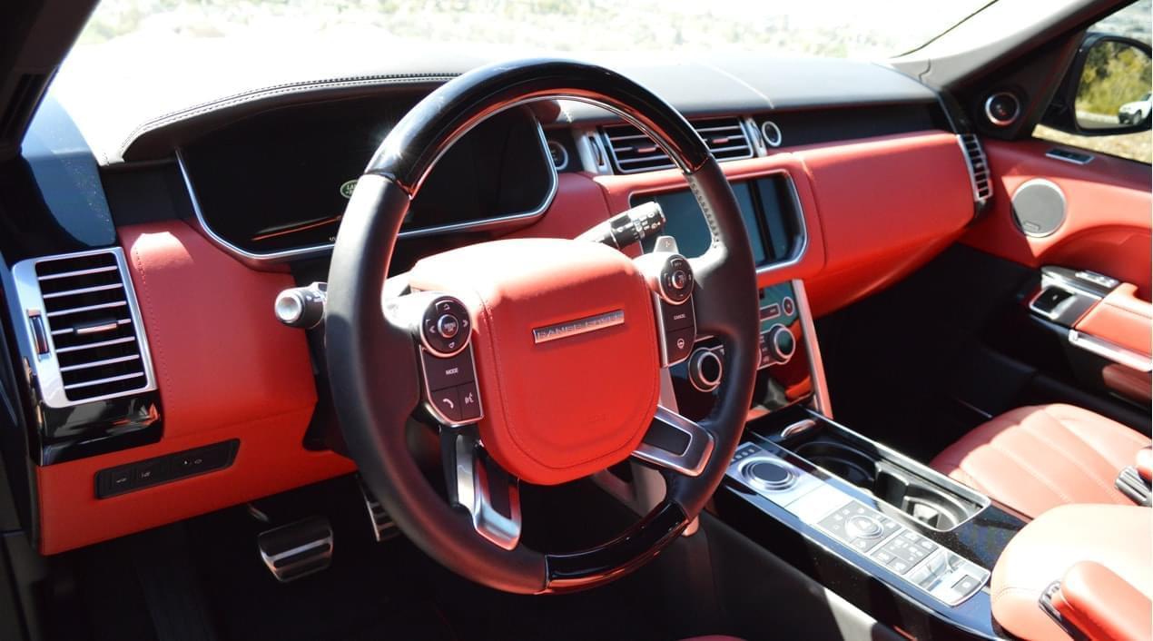 Range Rover Autobiography Black Interior >> Range Rover Autobiography Black Red Exotic Cars Uniq Los Angeles