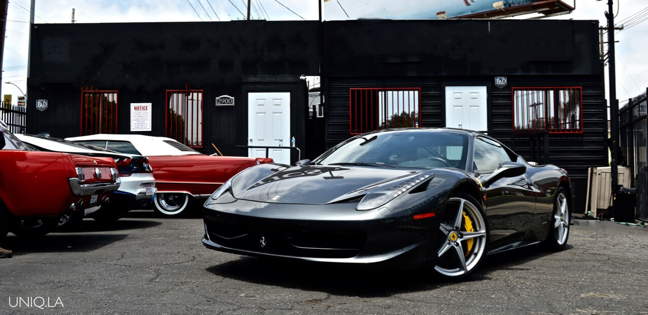 Ferrari 458 Italia Grey