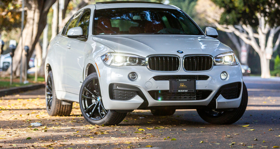 BMW X6 White & Red M-Sport Package