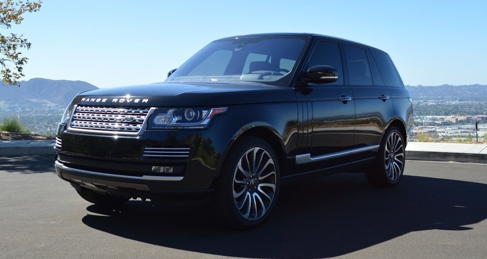 Range Rover Autobiography Black & Red