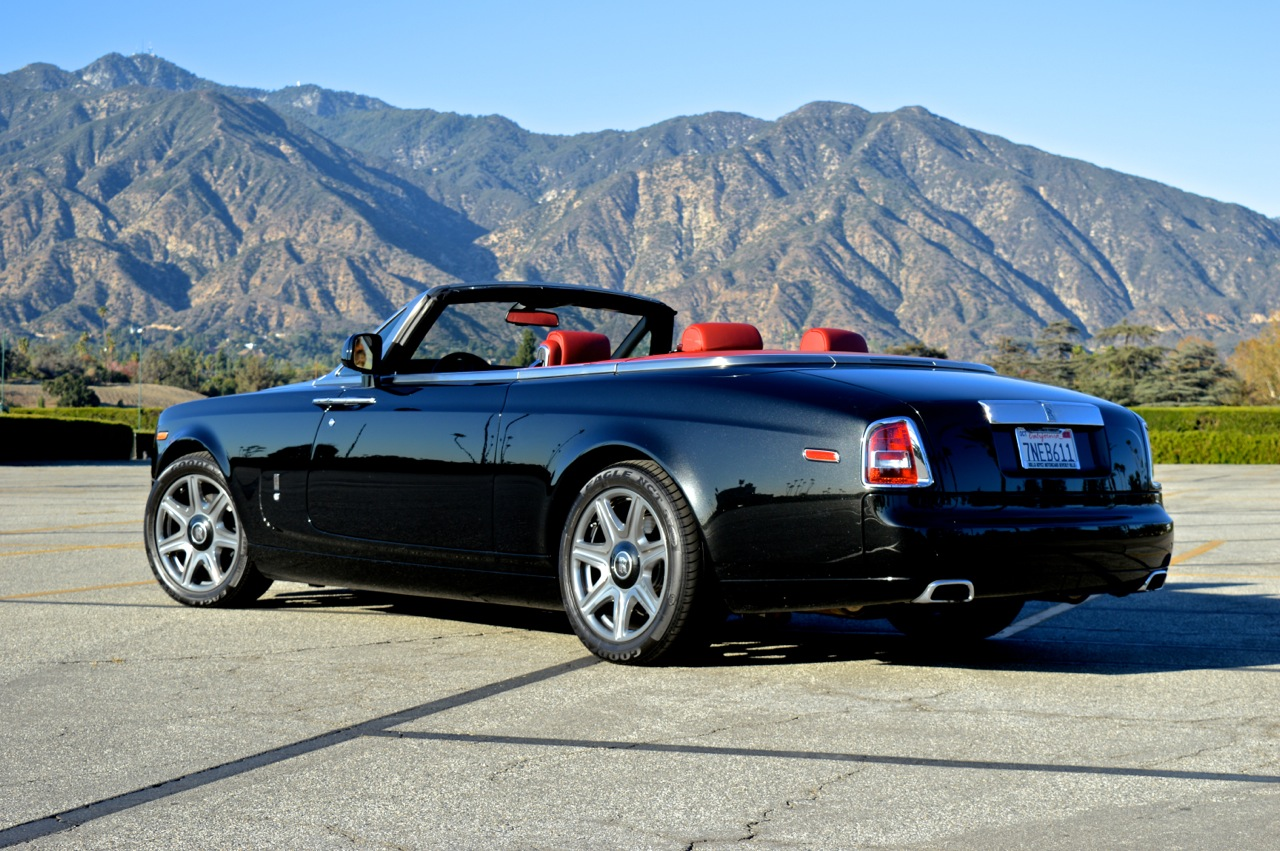 rolls royce 2 door convertible black red exotic cars uniq los angeles. Black Bedroom Furniture Sets. Home Design Ideas