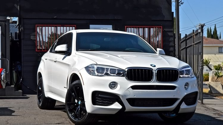 BMW X6 White & Red
