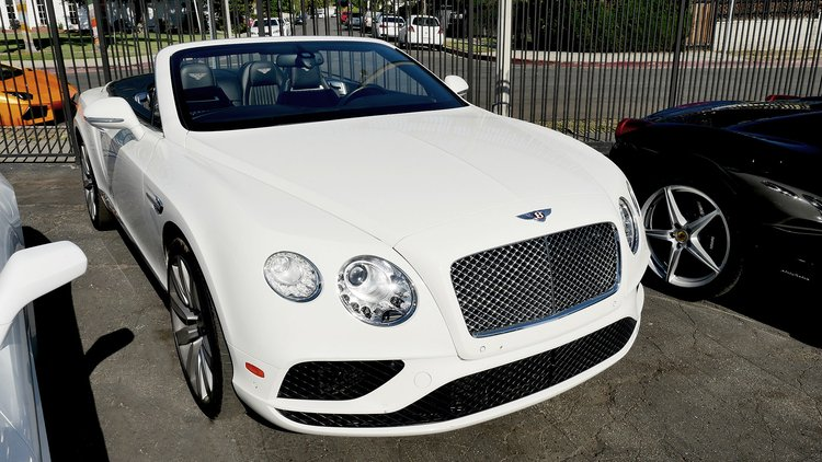 Bentley GT Convertible White