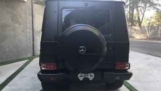 Mercedes G63 AMG Black & Red