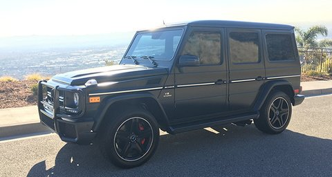 Mercedes-Benz G63 AMG Matte Black & Red