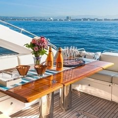 Our 72 UNIQ Modern Yacht is perfect for business meetings, romantic dates, proposals, celebrations or family gateways. Give us a call and we will help you plan your special event! + 1 (310) 584-7777 info@uniq.la www.UNIQ.LA