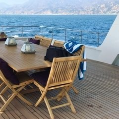 Beautiful day at Malibu, aboard our 143 UNIQ Super Yacht, that can comfortably accommodate up to 12 guests.Start planning your special event Now! + 1 (310) 584-7777 info@uniq.la UNIQ.LA