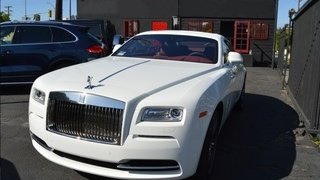 Rolls Royce Wraith White & Red (Starlight top)
