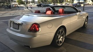 Rolls-Royce Dawn Pearl White & Red Convertible