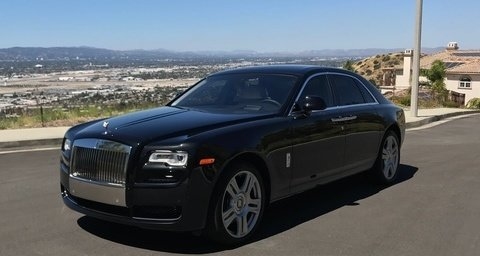Rolls-Royce Ghost Black