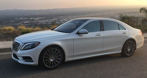 Mercedes-Benz S550 White