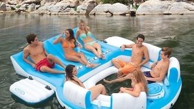 Inflatable Island (up to 6 people)