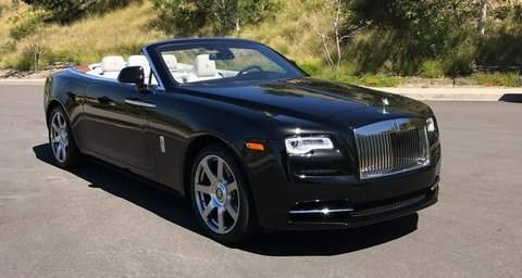 Rolls-Royce Dawn Black 2-door Convertible