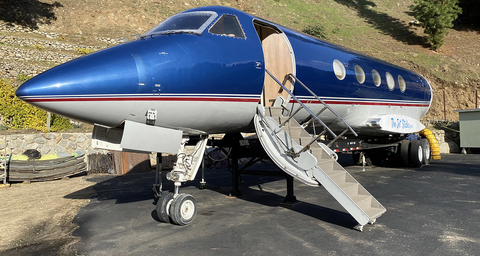 Private Jet available for Photo/Video Shoot
