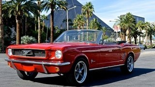 1964 Ford Mustang Convertible Red