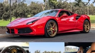 Ferrari 488 Coupe Red