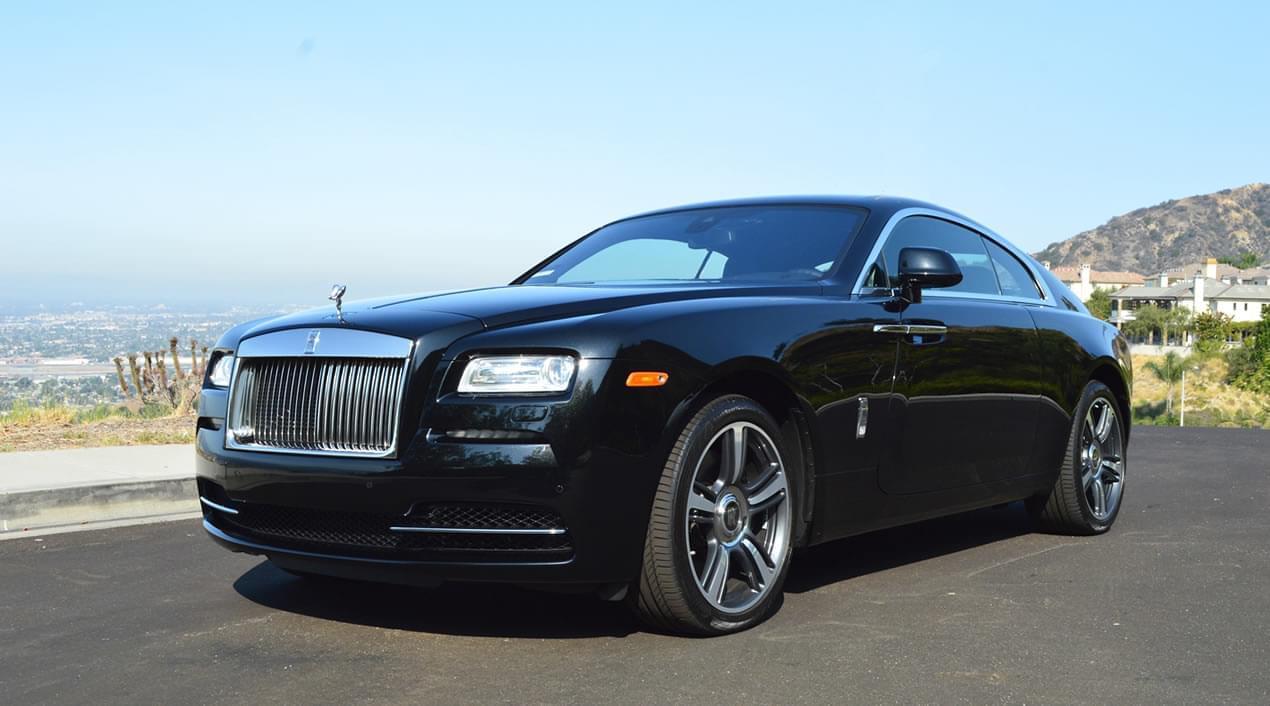Rolls Royce Wraith Black Exotic Cars