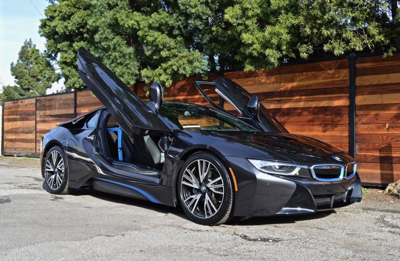 Bmw I8 Black Blue Exotic Cars Uniq Los Angeles